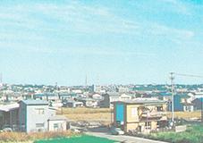 昭和46年 中根南部土地区画整理